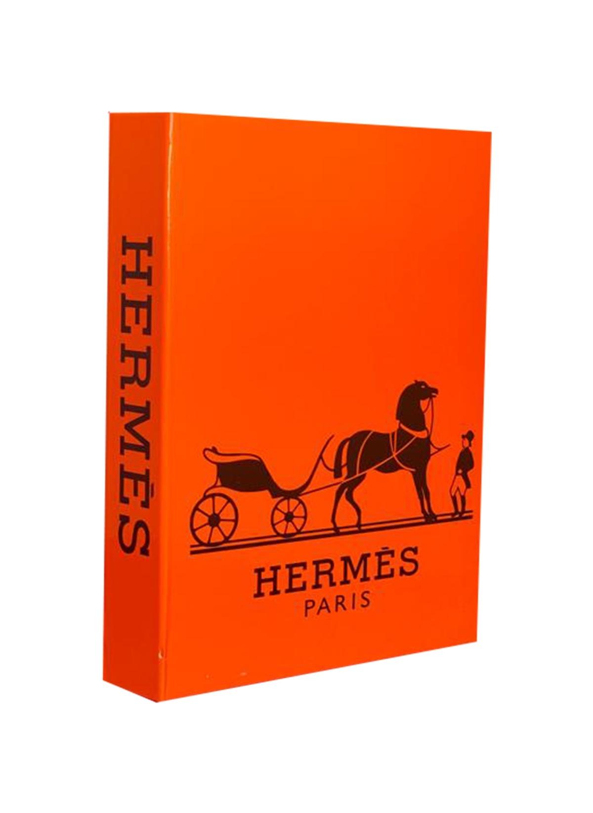 Standart Lyn Home & Decor Turuncu Hermes Dekoratif Kutu 27X19X4